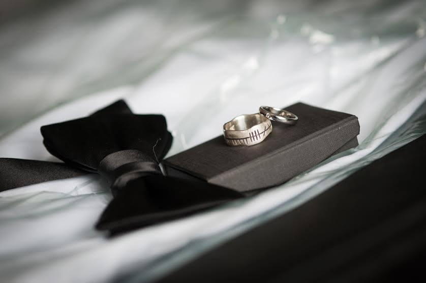 Bespoke celtic wedding rings made by JMK Goldsmiths, Kilkenny
