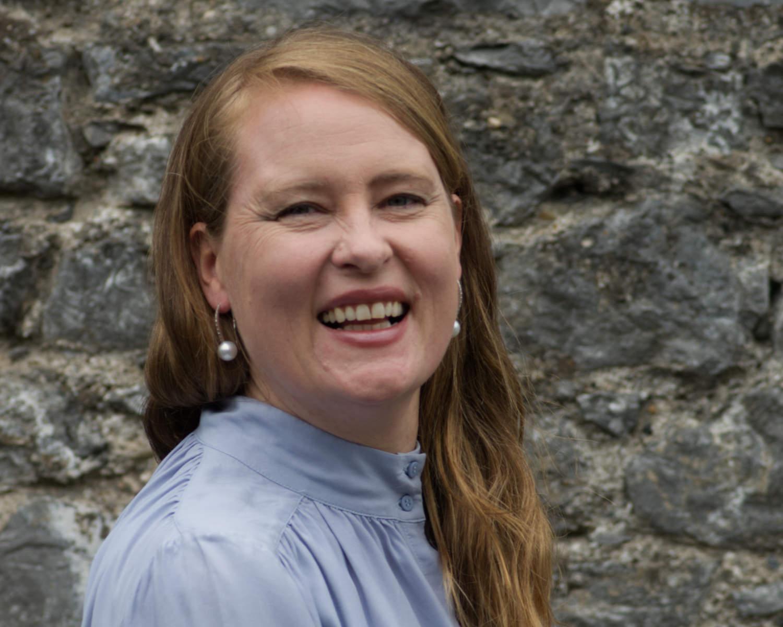Headshot of Marie Wilgaard Larsen a designer & goldsmith at JMK Goldsmiths, Kilkenny