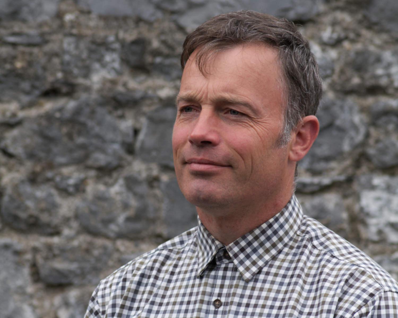 Headshot of Neill Kelly a goldsmith at JMK Goldsmiths, Kilkenny